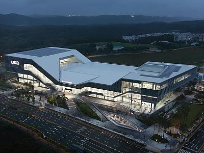 울산전시컨벤션센터 야경 썸네일 이미지